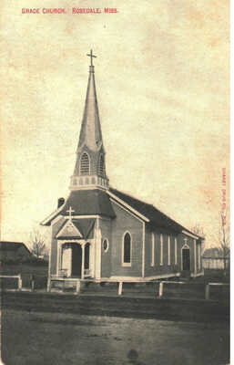 c. 1910 Rosedale, Mississippi - Grace Church