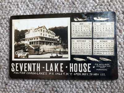 RPPC-Seventh Lake House-Inlet NY-Fulton Chain-Adirondacks-Beach-Hamilton County