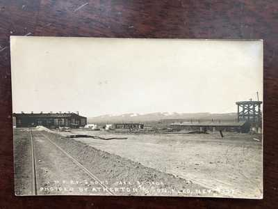 RPPC-Elko NV-Western Pacific Railroad-Shops-#137-WP-Atherton-Nevada-Elko County