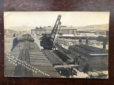 RPPC-Elko NV-Western Pacific Railroad-Yards-Shops-WP-Atherton-Nevada-Elko County
