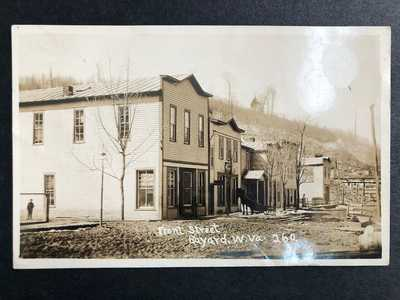 RPPC-Bayard WV-Front Street-General Store-West Virginia-W Va-Grant County-RP