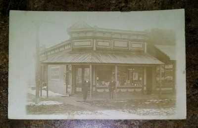 Vintage 1900s Drug Store Merwin Missouri RPPC
