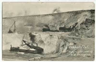 RPPC Copper Flat Mine near Ely, Nevada 1909 Nevada Northern 2-8-0 Steam Engines
