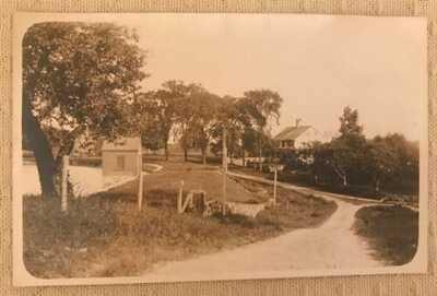 Vintage RPPC Real Photo Postcard Urban Swift's House Opposite Reservoi Derby C