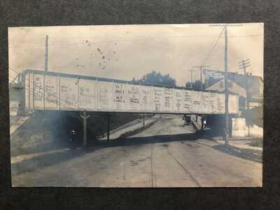 RPPC-Charlottesville VA-Railroad-Bridge-Scores-Football-University Virginia-UVA