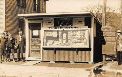"Munsonville NH ""Wonder Store"" Tenements For Rent Postcards Health Insurance RPPC"