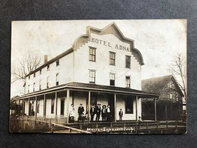 RPPC-Adna WA-Hotel Adna-Prop Moore & Syverson-Wash-Lewis County-Real Photo-RP