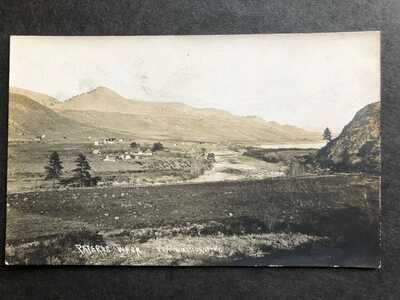 RPPC-Pateros WA-Town View-Frank Matsura Photo-Washington-Okanogan County-RP