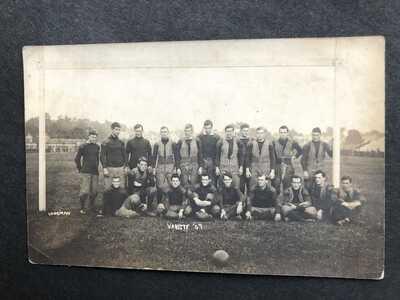 RPPC-Ann Arbor MI-University of Michigan-Football Team 1909-Big Ten-Mich-Varsity
