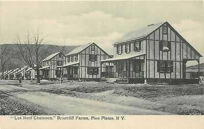 H54/ Pine Plains New York Postcard c1910 Les Neuf Chateaux Briarcliff 105