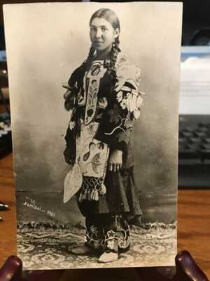 Antique Native American / Indian Postcards RPPC