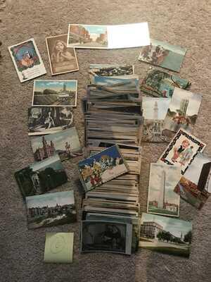 Vintage Postcards (500 Postcards) Pre 1930 Lot C