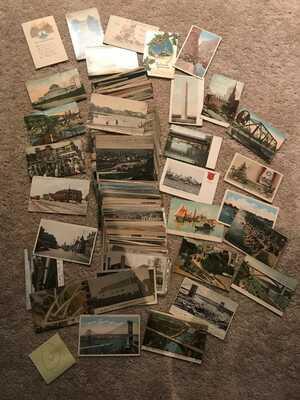 Vintage Postcards (500 Postcards) Pre 1930