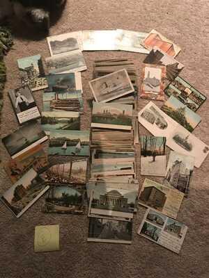 Vintage Postcards (500 Postcards) Pre 1930 Lot E