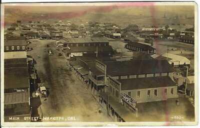 Main Street, MARICOPA, CAL. ~ Real Photo Postcard ~ Kern County, California