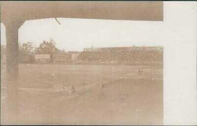 1913 Washington Park Los Angeles Baseball Stadium Postcard White Sox vs Giants