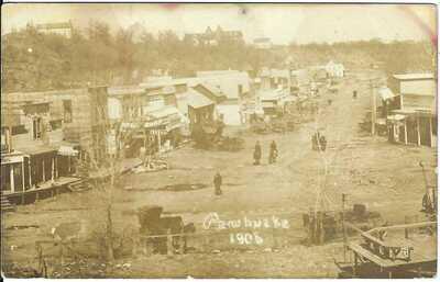 PAWHUSKA, OKLA., 1906 ~ Osage County, Oklahoma ~ Real Photo Postcard