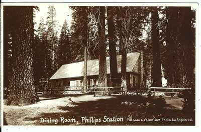 Dining Room, PHILLIPS STATION, CAL. ~ El Dorado County, California ~ RPPC