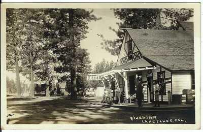 Bijou Inn, LAKE TAHOE, CAL. ~ El Dorado County, California ~ RPPC