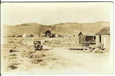 WEEPAH, NEV. ~ Esmeralda County, Nevada ~ GHOST TOWN ~ RPPC
