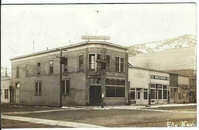 R. QA. Riepe Bld., ELY, NEV. ~ White Pine County, Nevada ~ RPPC ~ c.1908