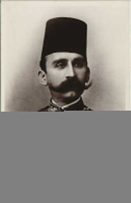 PC EGYPT, H.H. HUSSEIN I, SULTAN OF EGYPT, Vintage REAL PHOTO Postcard (b30600)