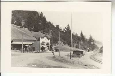 RPPC Lagunitas CA Marin CO Store Gas Train Depot near Mill Valley San Rafael