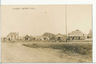 Cotati, Sonoma County, CA. Real Photo RPPC postcard 1910