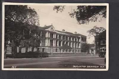 China - Hong Kong Wellington Barracks Real Photo (165) Postcard 1939