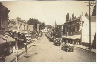 RPPC Placerville CA El Dorado CO Gold Country Mine Town 1910 era Real Photo