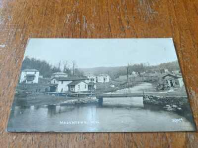 Rare Early 1900's Masontown WV RPPC Postcard PRESTON Co. Photo Decker's Creek?