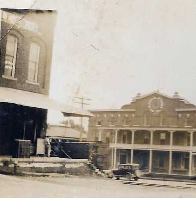 1925 iuka mississippi mineral springs hotel ORIGINAL photo; burned 1946 MS MISS