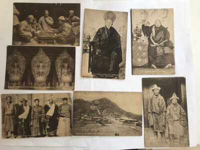 7 Old Early China,Belgian Missions Of Scheut Kou-kou-nah Wealthy Lama Etc Etc