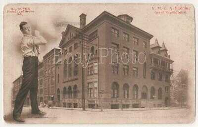 MI: Grand Rapids: Mr. Rover at the YMCA, #G-14, 1907