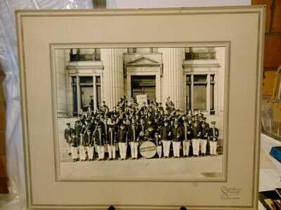 Early LDS School Salt Lake City Utah Band Photo