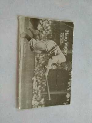"""Antique Real Photo Postcard of Hans """" Honus"""" Wagner- Pittsburgh Pirates"""