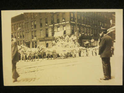 RPPC COLUMBUS OHIO-OHIO WOMAN SUFFRAGE ASSOCIATION PARADE AUG 27,1912