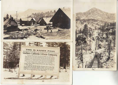 3 RPPC Fresno CO Kaiser Pass Camp Huntington Florenece Lakes San Joaquin River