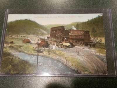 VINTAGE IRON COMPANY COAL WASHER LaFollette Tennessee POSTCARD RARE