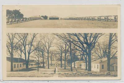Jackson MS Robins Airfield Institute of Aeronautics 1941 real photo postcard
