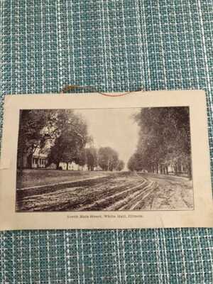 Vintage Picture Card set , White Hall Illinois  (8) Pictures