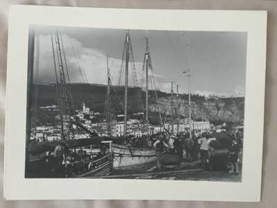 Greece- Zante - Zakynthos - 17*12 cm - Travel - 1936 - port - fishermen