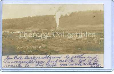 RPPC Haakwood Lumber Saw  Mill Ghost Town Cheboygan County Logging Michigan