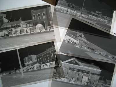 1915 Downtown Kingman, AZ Street Photo ORIG Negatives - Arizona
