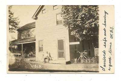 POST OFFICE~VIOLA DELAWARE DE~1908