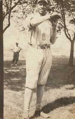 "RP: Negro League Black Baseball Team Pitcher W.P.Drake ""Plunk"" 1915-20s"