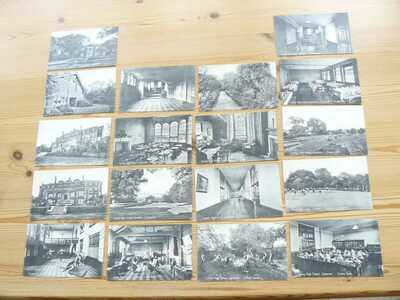18 x County High School Colchester Postcards - Essex