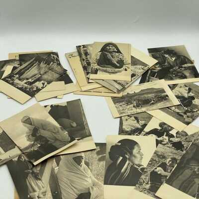 Set of 29 Laura Gilpin Pictorial Post Cards of the Southwest 1930's Set 1-5