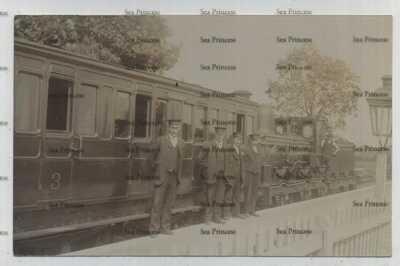 postcard railway station Northamptonshire Blakesley Stratford Midland junction