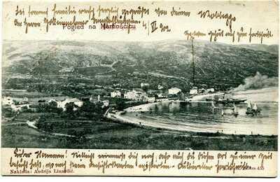CROATIA  AUSTRIA  1902  c.canc. collettoria S.MARTINO IN VALLE MARTINSCICA VRANA